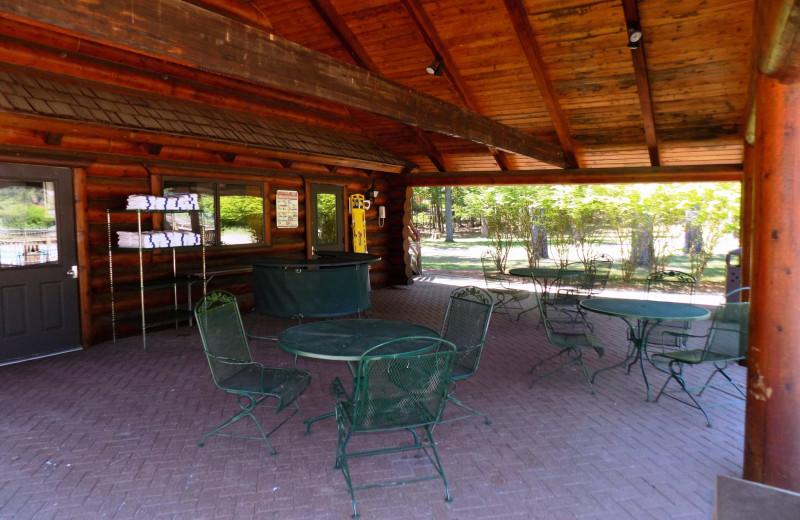 Pavilion at Garland Lodge and Resort.