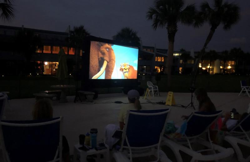 Family movies at Sunnyside Resort Rental Company.