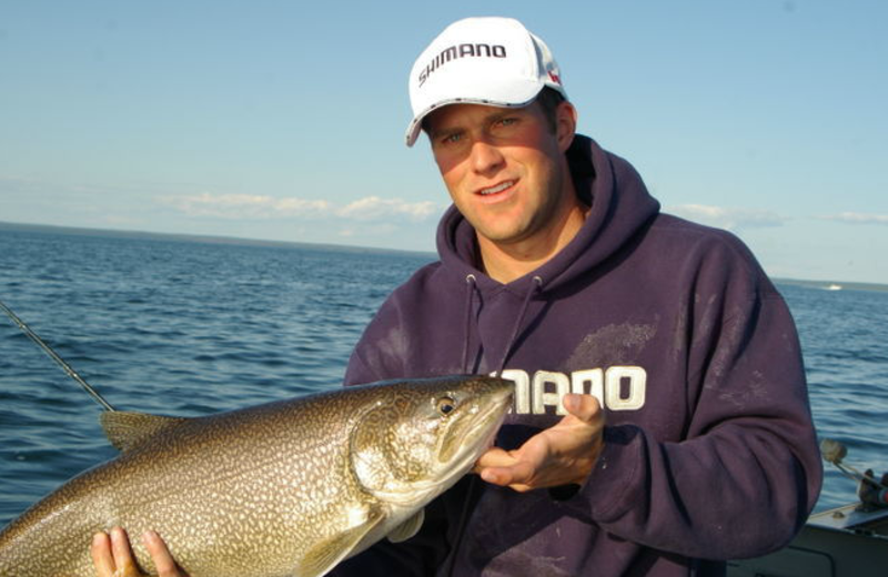Fishing at Ongaro Outdoor Outfitters.