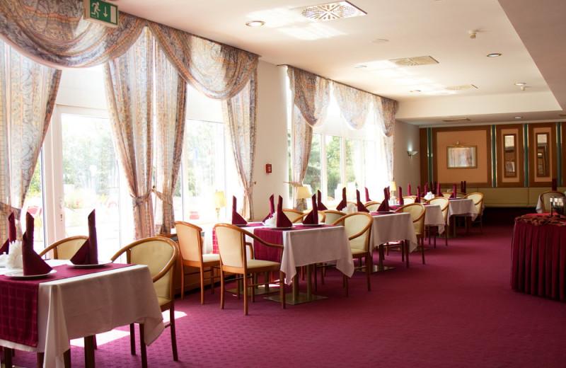 Dining at Hotel Shodlik Palace.