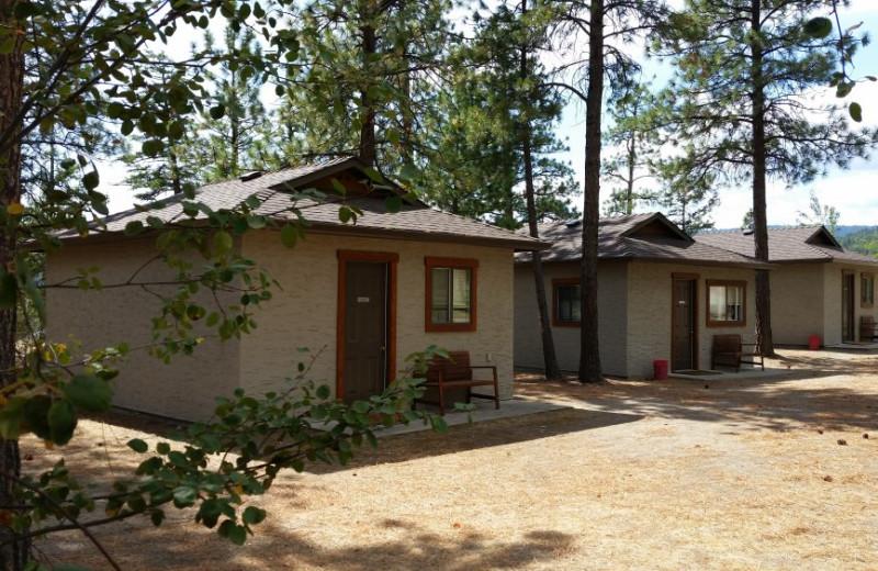 Cabins at Powers Creek Retreat.