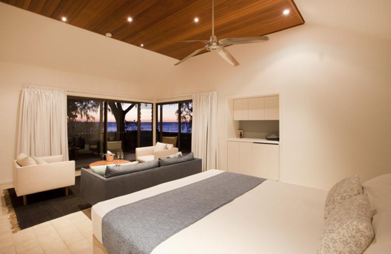 Guest room at Heron Island.