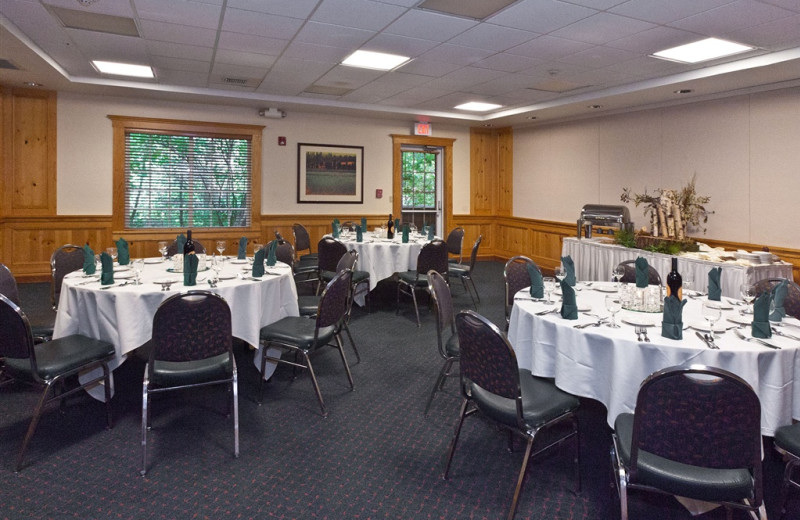 Conference room at The Heathman Lodge.
