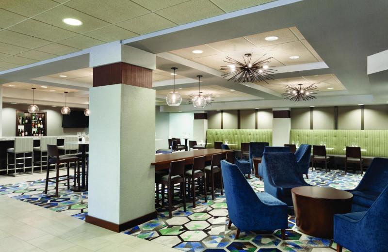 Dining at Radisson Hotel Dallas North Addison.