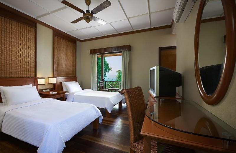 Guest room at Berjaya Redang Golf & Spa Resort.