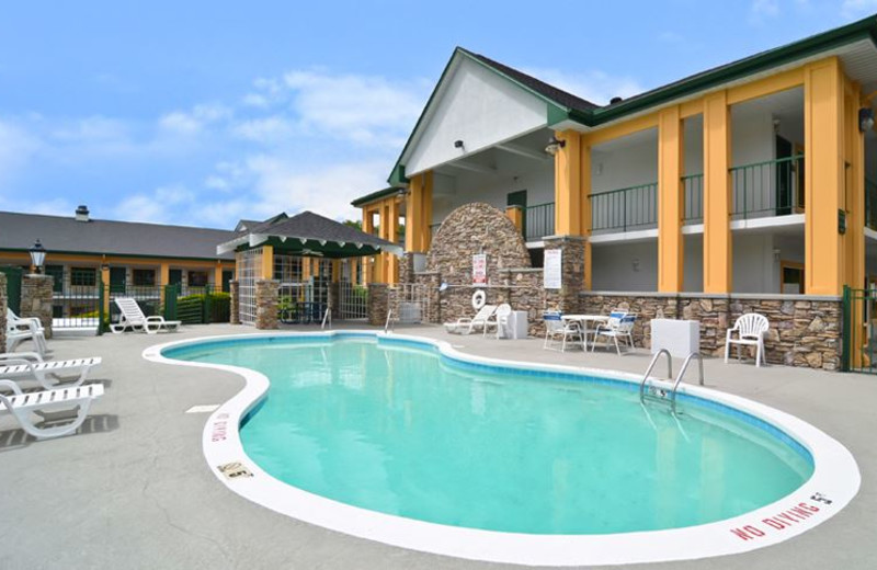 Outdoor Swimming Pool at Quality Inn and Suites Biltmore East