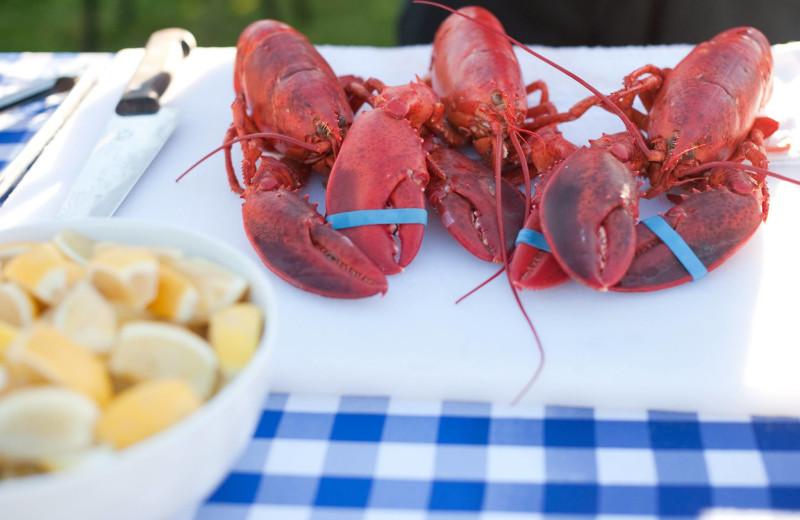 Lobster at Winnetu Oceanside Resort.