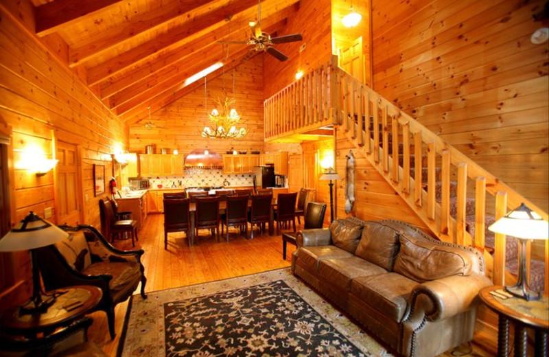 Main Level Interior at Rivers Ridge Lodge