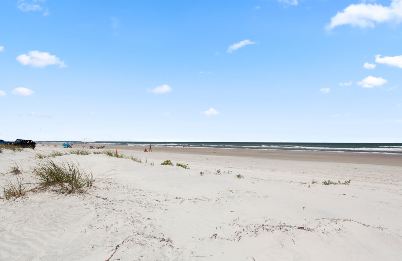 Beach at Saint Augustine Beach Vacation Rentals.