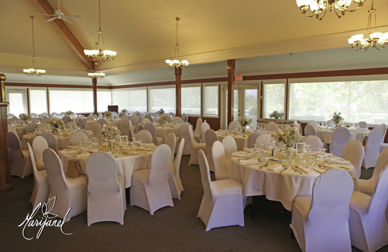 Wedding reception at South Thompson Inn & Conference Centre.