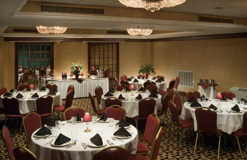 Banquet room at Park Place Hotel.