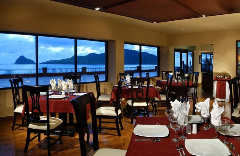 Dining at Hotel Playa Mazatlan.
