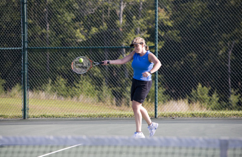 Tennis at Mariners Landing.