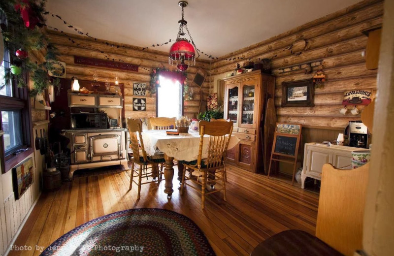 Interior view of Railroad Inn Bed & Breakfast.