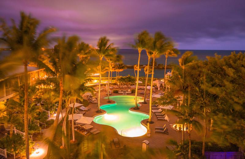 Outdoor pool at Hawks Cay Resort.