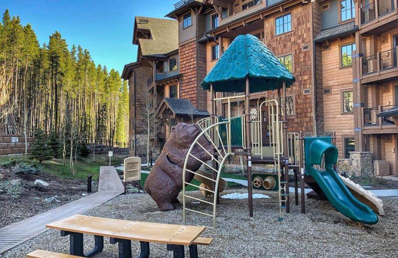 Playground at Grand Lodge on Peak 7.