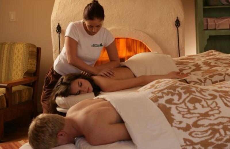 Spa massages at Rancho De Los Caballeros.