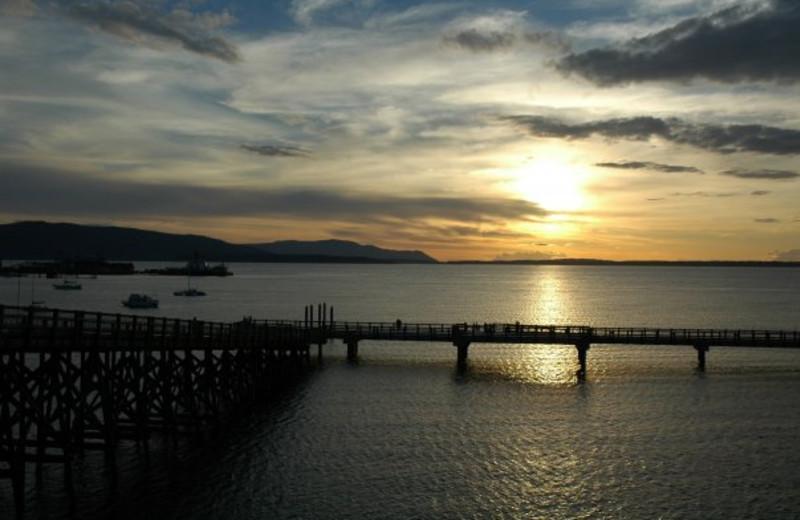 Beautiful Sunset Views at The Chrysalis Inn