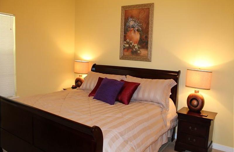 Bedroom at Orange Beach Villas.