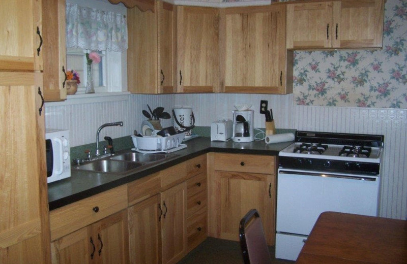 Guest kitchen at Spring Valley Golf and Lodge.