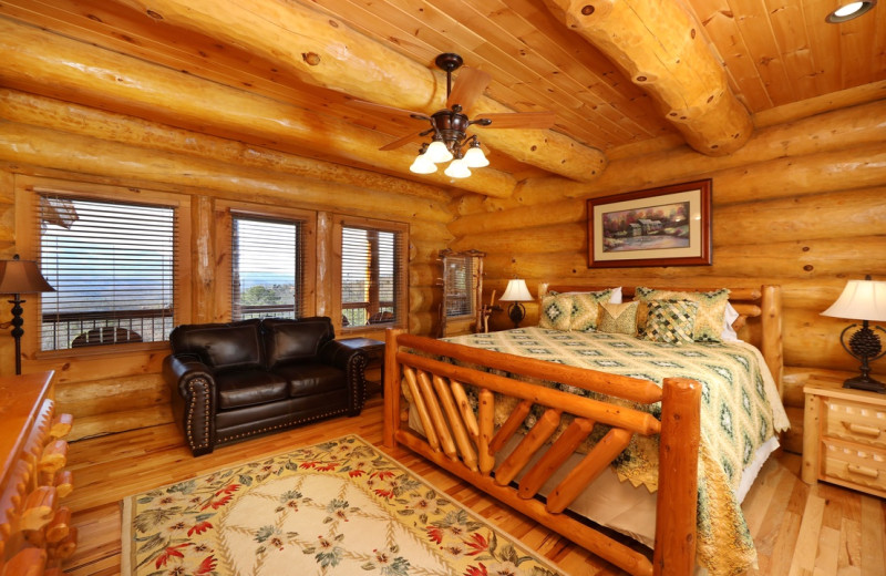 Rental bedroom at Eden Crest Vacation Rentals, Inc.