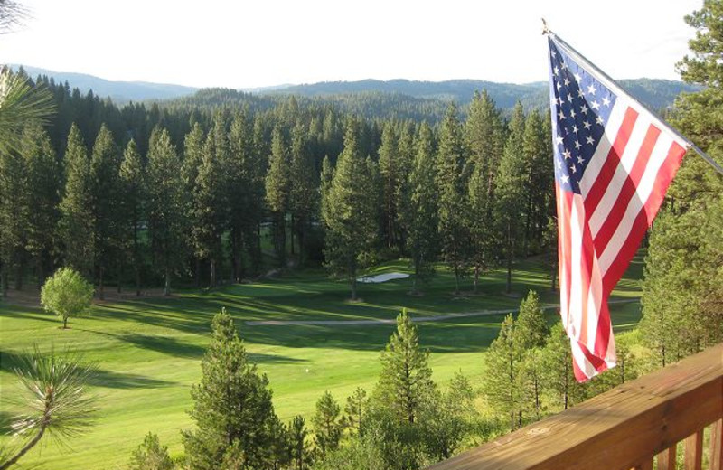 View of golf course at Idaho Cabin Keepers.