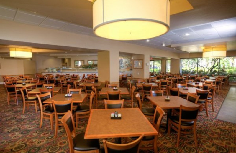 Boardwalk Buffet Restaurant at Clarion Inn Lake Buena Vista.