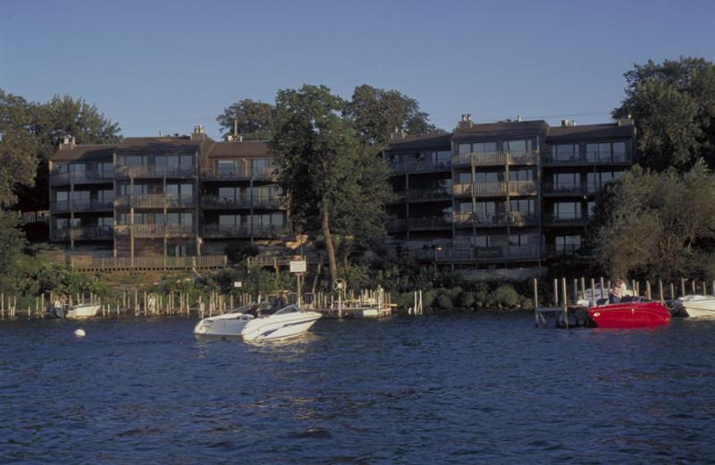 Lake view at West Oaks Resort & Condominiums.
