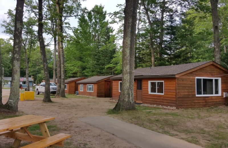 Cabins at Lake Cabins Resort.