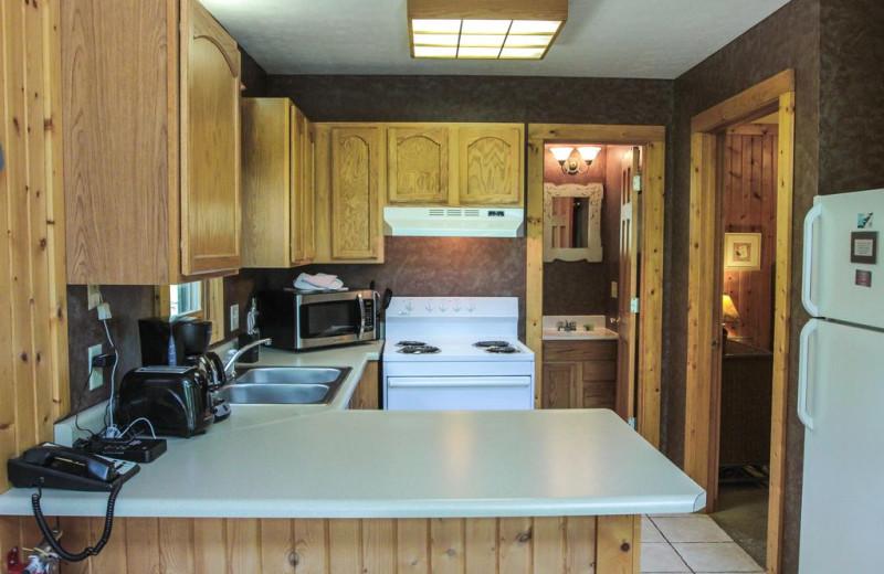 Kitchen at Pine Cone.