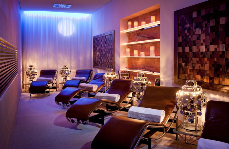 The spa at Ana Grand Hotel Wien.