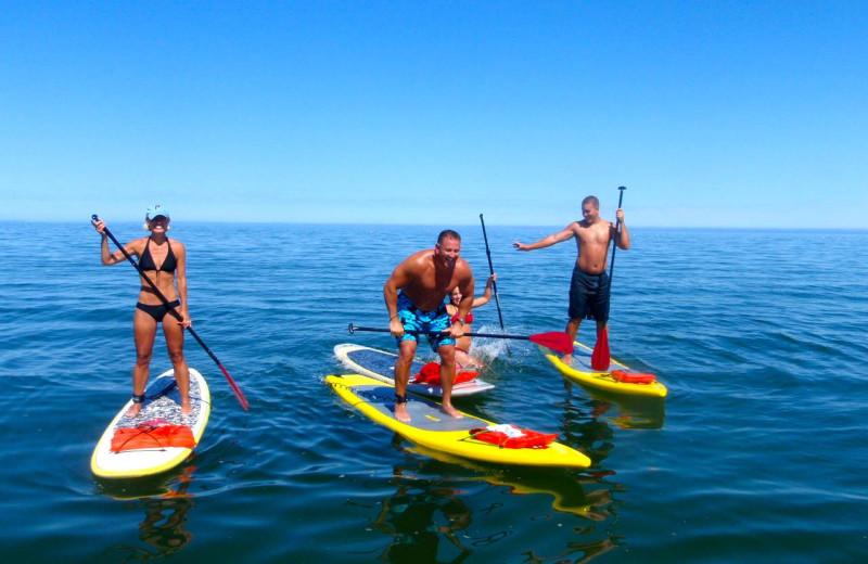 Paddle boards at Ocean Edge Resort & Golf Club.