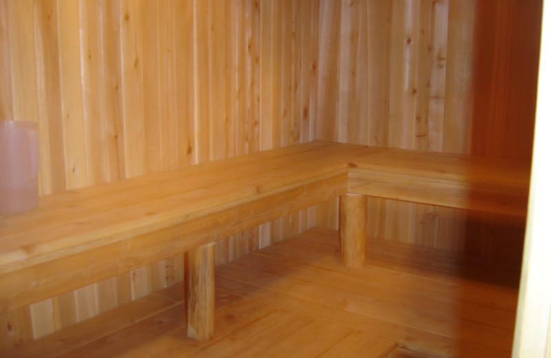 Sauna at Buckhorn on Caribou.