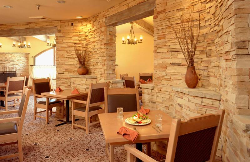 Dining at The Lodge at Santa Fe.