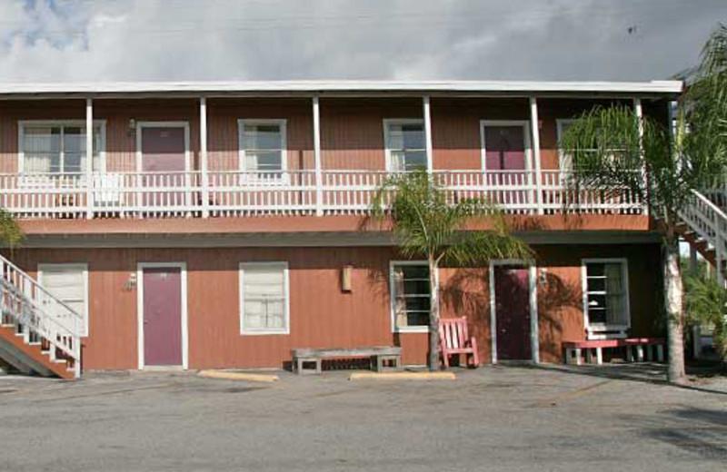 Motel Exterior at Magic Suntan Motel