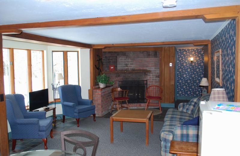 Guest room at Winter Clove Inn.