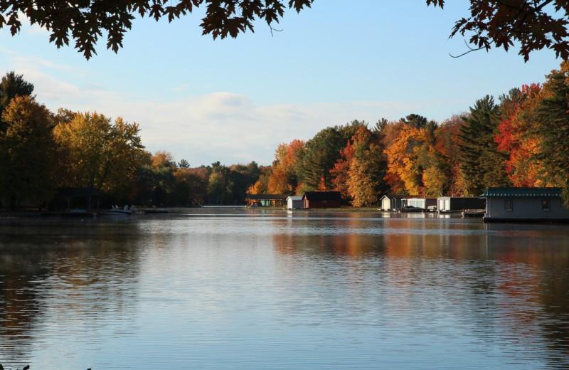 Lake at Patterson Kaye Resort.