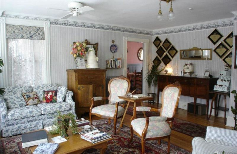 Parlor view of The Andrie Rose Inn.