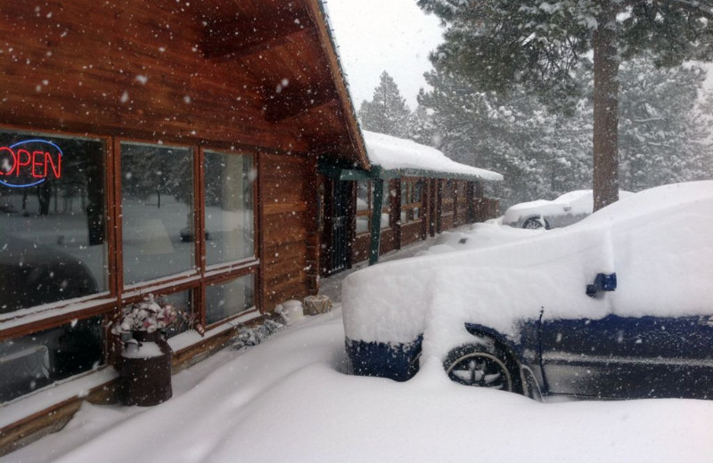 Winter time at Eldora Lodge.