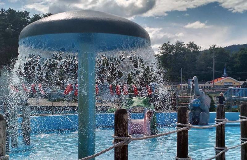 Pool at The Quarters at Lake George.