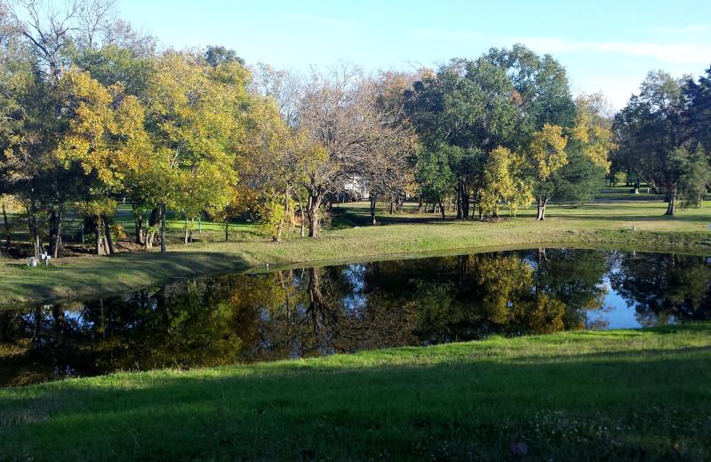 Lake at Mill Creek Ranch Resort.