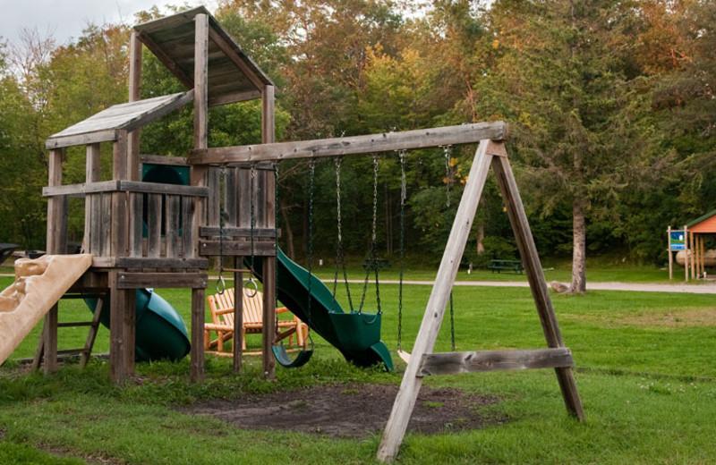 Playground at Campfire Bay Resort.