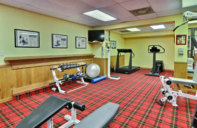 Fitness room at Toftrees Golf Resort and Conference Center.