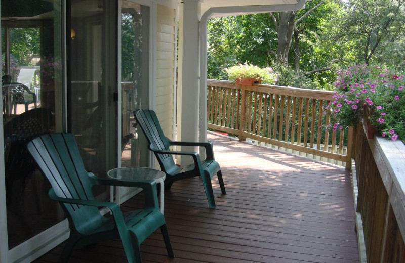 Porch at Grand Hotel of Ogunquit.