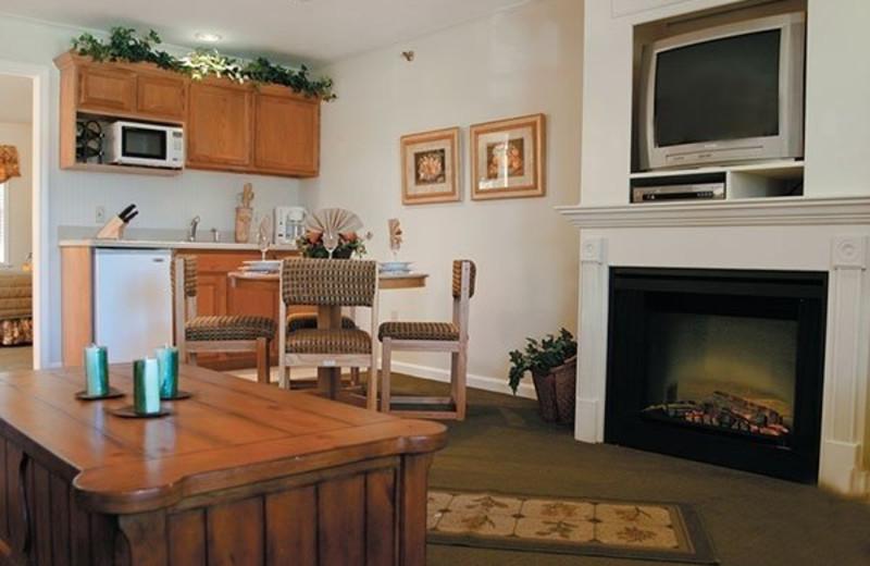 Guest room at InnSeason Resorts The Falls at Ogunquit.