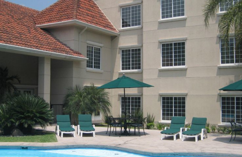 Outdoor pool at Staybridge Suites Monterrey-San Pedro.