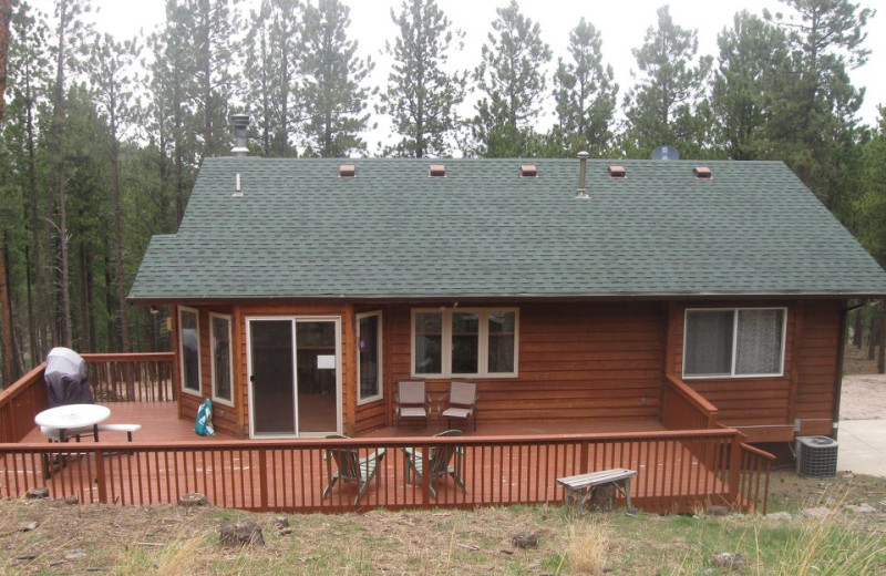 Rental exterior at Edelweiss Mountain Lodging.