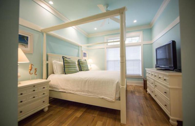 Rental bedroom at Dune Real Estate Company.