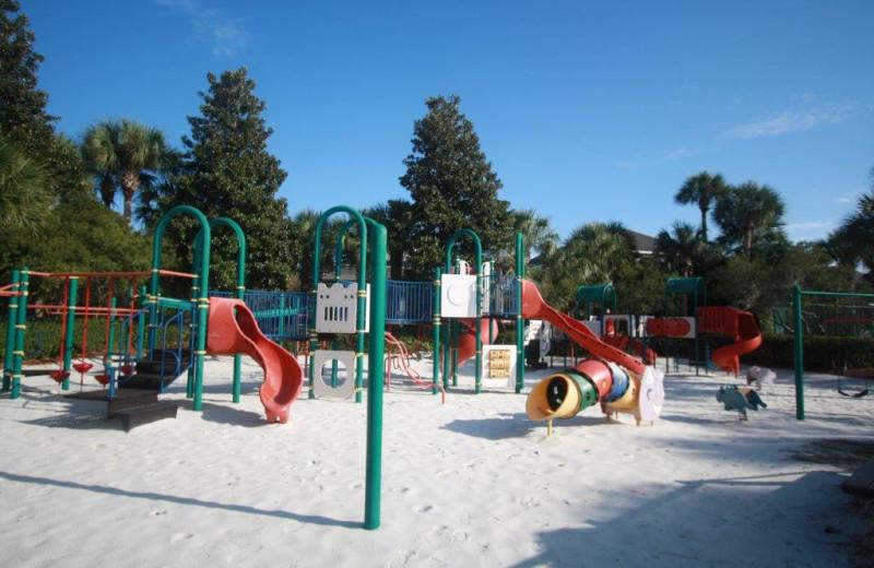 Playground near Destin Getaways.