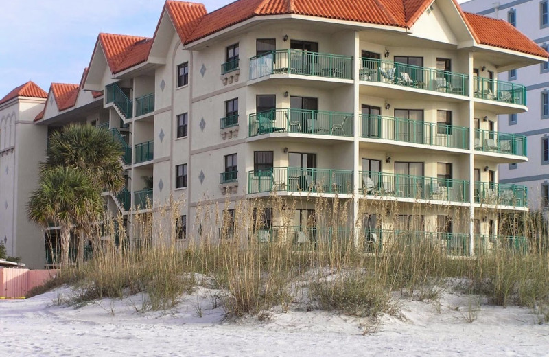 Exterior view of Vistas on the Gulf.